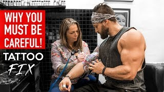 Download FIRST TATTOO: Mistakes & Fixes | DO'S & DON'TS BEFORE Getting Inked (LEX FITNESS) Video