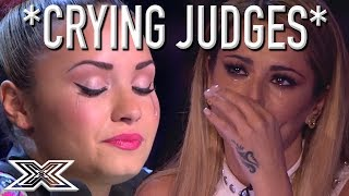 Download SUPER EMOTIONAL Auditions Have X Factor Judges In TEARS! *CRYING JUDGES* Video