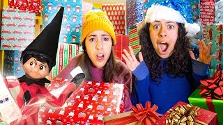 Download Bad Elf on a Shelf filled our room with presents Christmas Prank! Opening up 1,000 Mystery Boxes! Video