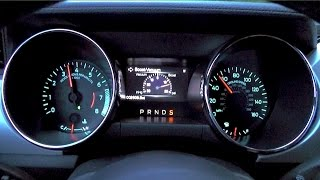 Download 2015 Ford Mustang EcoBoost Automatic Shift Points Video