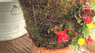 Download How to Make a Moss Hanging Garden Basket with Lisa Video
