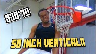 Download 50 INCH VERTICAL! 5'10″ D-League Dunk Champ John Jordan Hits His HEAD on the Rim! Video