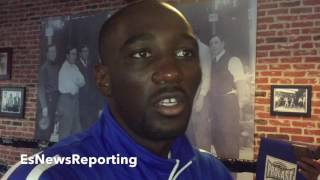 Download TERENCE CRAWFORD BELIEVES BROOK IS MAKING MISTAKE IN MOVING UP IN WEIGHT WITHOUT CLEARING OUT 147LBS Video