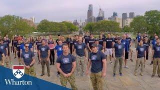 Download Being a Veteran at Wharton Video