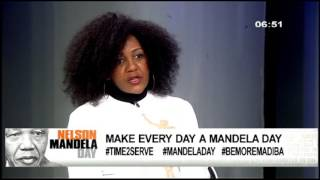 Download Ndileka Mandela urges SA to make everyday a Mandela Day Video
