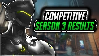 Download #1 GENJI SEASON 3 GAMEPLAY! TEAM KILL! (Competitive Overwatch Console Gameplay) Video