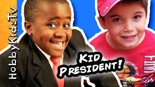Download HobbyKids Make Handmade Awards a Kid President's idea Video