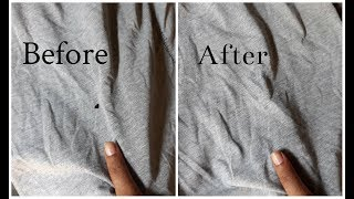 Download DIY How to Repair Holes In Clothes Without Stitching In 1 Min Video