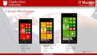 Download Developing Applications for Windows Phone 8 (Short Course) - Week 1 Video