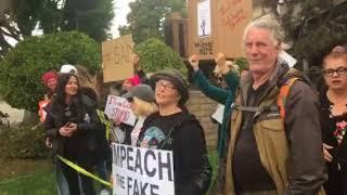 Download Trump protest Video