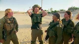 Download Conan Trains with the Women of the Israel Defense Forces Video