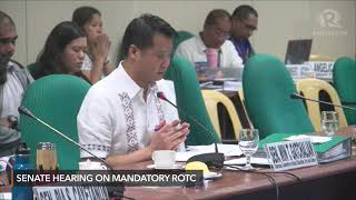 Download Senate hearing on mandatory ROTC Video