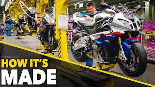 Download BMW S1000RR + Bikes Production Line - HOW IT'S MADE Making of Motorcycles Video