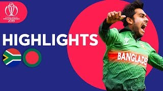Download Tigers Win In Thriller! | South Africa vs Bangladesh - Match Highlights | ICC Cricket World Cup 2019 Video
