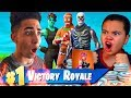 Download INSANE 1V1 9 YEAR OLD BROTHER VS CRAZY TRASH TALKER (SNIPERSLRN) 13,500 V BUCKS WAGER IN FORTNITE!!! Video