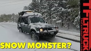Download First Snow: How Good is the Land Rover Discovery II In The Winter? Video