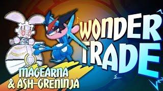 Download ″MAGEARNA & ASH-GRENINJA!″ - Wonder Trade Friday #WTF - Pokémon Sun & Moon Livestream w/ Hydros Video