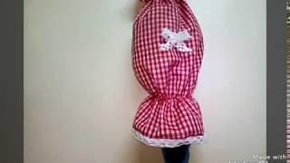Download خياطة اكسسوارات بسيطة للمطبخ بمتر ونصف فقط من القماش(تغليف سلة الخبز-منظم الاكياس-منديل المطبخ....) Video