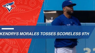 Download Kendrys Morales tosses a scoreless 9th Video