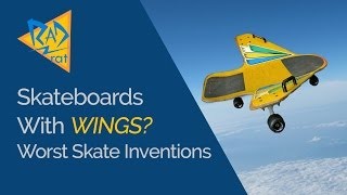 Download A Skateboard with WINGS? Worst Skateboard Inventions of All Time. Video