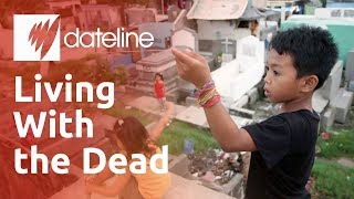 Download Why are Filipino communities living in cemeteries and caring for its dead? Video