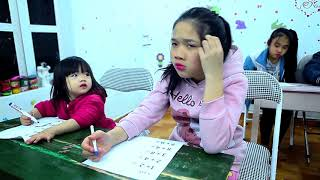 Download Kids Go To School   Children learn math and count numbers Video