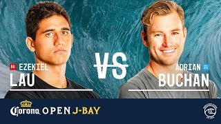 Download Ezekiel Lau vs. Adrian Buchan - Round of 16, Heat 4 - Corona Open J-Bay 2019 Video