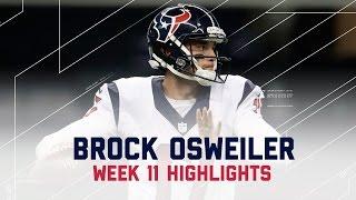 Download Brock Osweiler's Week 11 Highlights & Struggles | Texans vs. Raiders | NFL International Video