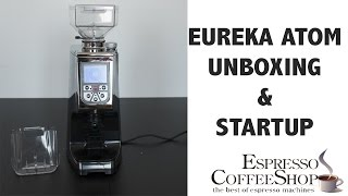 Download Eureka Atom unboxing & startup Video