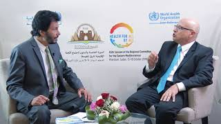Download RC65 | Interview with Dr Hasan Salah, Regional Advisor, Primary Health Care Video