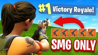 Download The SMG ONLY CHALLENGE In Fortnite Battle Royale! Video