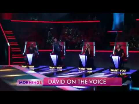 🔔David Campbell Undercover on THE VOICE _ Famous Auditions