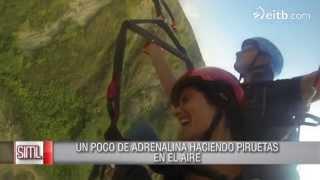 Download En parapente sobre el mar en Sopelana Video