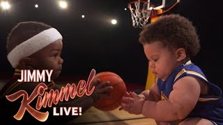 Download Baby Steph Curry and Baby LeBron New Energy Drink Video