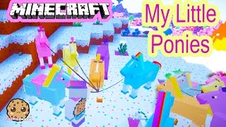 Download Cookieswirlc Minecraft Game Play Finding My Little Pony Horses Let's Play Gaming Video Video