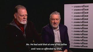 Download 'I'm a Bernie fan': DeVito and De Niro talk Trump and Sanders Video