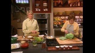 Download Stuffed Cabbage- Martha Stewart Video