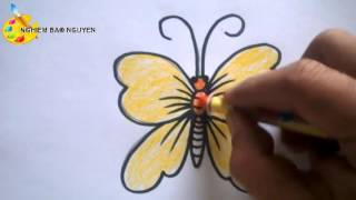 Download Vẽ con Bướm/How to Draw Butterfly Video