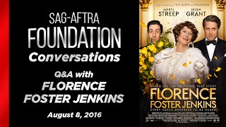 Download Conversations with Meryl Streep, Hugh Grant and Simon Helberg of FLORENCE FOSTER JENKINS Video