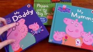 Download PEPPA PIG STORY BOOKS 1, 粉紅豬小妹故事書1 Fěnhóng zhū xiǎo mèi gùshì shū 1 Video