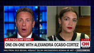 Download Alexandria Ocasio-Cortez Bungles Chris Cuomo interview Video