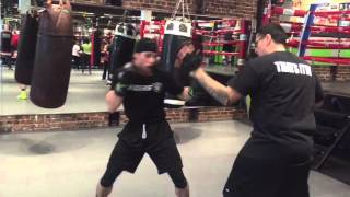 Download Boxing Mittwork Fast Hands Reaction Drills Video