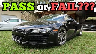 Download Can My Salvage Audi R8 Pass Rebuild Inspection with its Cheap Frame Repair? Video