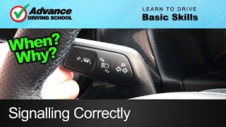 Download Signalling / Indicating Correctly | Learning to drive: Basic skills Video