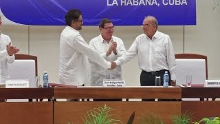 Download Peace at last in Colombia after 50-year conflict Video