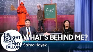 Download What's Behind Me? with Salma Hayek Video