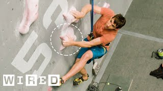 Download Why It's Almost Impossible to Climb 15 Meters in 5 Secs. (ft. Alex Honnold) | WIRED Video