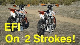 Download EFI on 2018 KTM 2 Strokes!? Fuel Injection is HERE in 2018! - Episode 227 Video