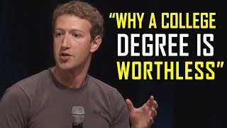 Download The Most Successful People Explain Why a College Degree is USELESS Video
