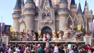 Download Christmas Holiday 2016 Finale - Mickey's Royal Friendship Faire at the Magic Kingdom Video